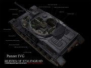 Red Orchestra 2: Heroes of Stalingrad: Nachmodelliertes Panzer-Artwork
