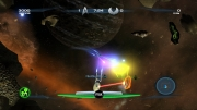 Star Trek D-A-C: Screenshot aus dem Arcade-Game 	Star Trek D-A-C