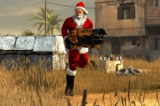 Serious Sam 3: Kostenloser Santa Multiplayer Skin