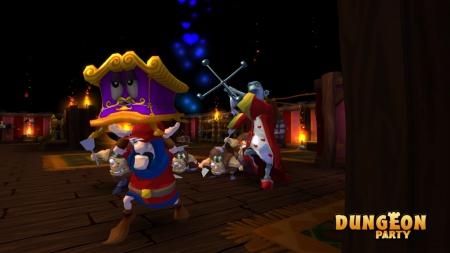 Dungeon Party: Screenshot zum Titel.