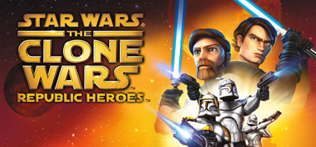 Logo for Star Wars The Clone Wars: Republic Heroes