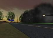 Sprengmeister-Simulator: Die Autobrücke wird in wenigen Sekunden Geschichte sein.