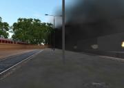 Sprengmeister-Simulator: Sprengung des Bahnhofgebäudes.