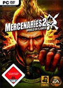 Logo for Mercenaries 2: World in Flames