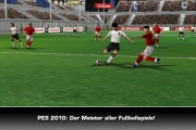 Pro Evolution Soccer 2010: Screenshot zur iPhone und iPod touch Fassung