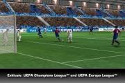 Pro Evolution Soccer 2010: Screenshot zur iPhone und iPod touch Fassung