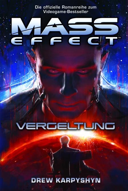 Mass Effect: Buch Cover zum neusten Roman Vergeltung.