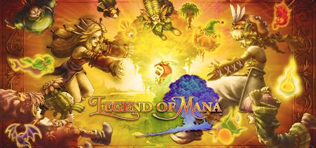 Logo for Legend of Mana