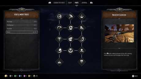 Dungeons & Dragons: Dark Alliance: Screen zum Spiel Dungeons & Dragons: Dark Alliance.