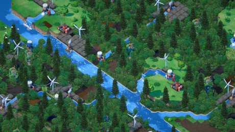 Terra Nil: Screen zum Spiel Terra Nil.