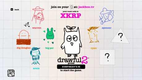 Drawful 2: Screen zum Spiel Drawful 2.