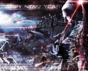 Command & Conquer 4: Tiberian Twilight: Happy New Year Wallpaper zu C&C4: Tiberian Twilight