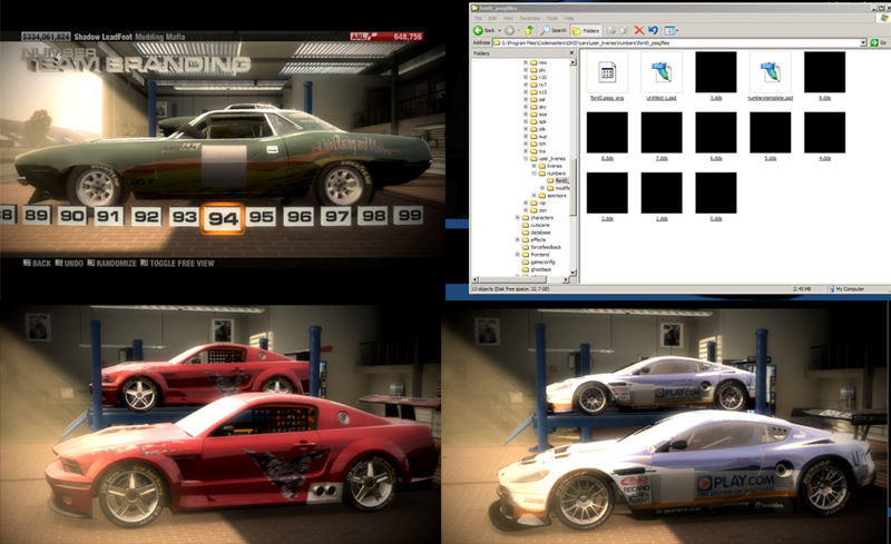 Race Driver GRID: Race Driver Grid - Mod - Transparent Car Numbers Mod - Preview