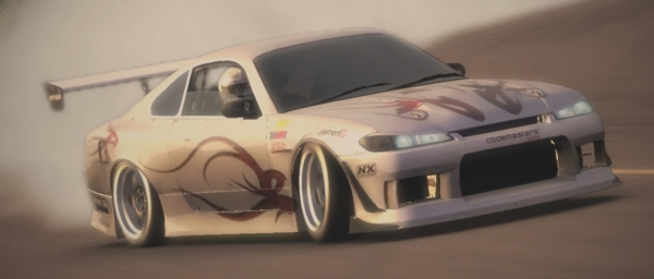 Race Driver GRID: Race Driver Grid - Skins - Nissan S15 Paragon style - Preview