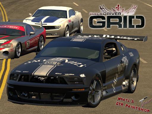 Race Driver GRID: Race Driver Grid - Skins - Mustang GT-R Concept - Mustang GT-R Concept Jack Daniels - Preview