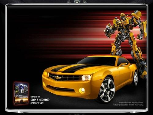 Race Driver GRID: Race Driver Grid - Skins - Bumblebee Movie Style - Vergleichsbild vom Kinofilm Bumblebee