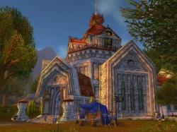 World of Warcraft: Screen zum Gebiet Abtei von Nordhain.
