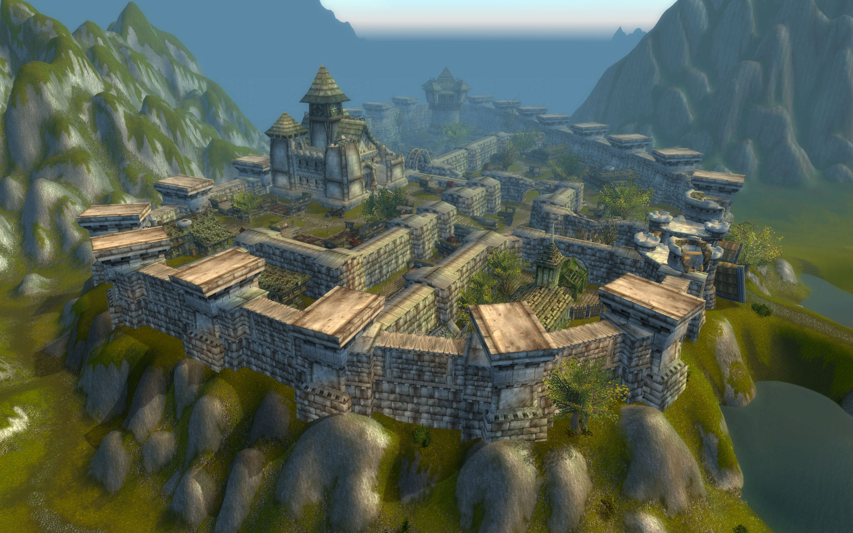 World of Warcraft: Screen aus Arathihochland.