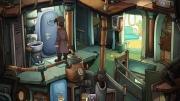 Deponia: Screen aus dem Startbereich des Adventures.