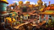 Deponia: Screen zum mehrfach preisgekrönten Point & Click-Adventure.