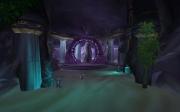 World of Warcraft: Cataclysm: Der Eingang zu Brunnen der Ewigkeit liegt im Westen zwischen dem Schwarzen Morast und dem Alten Vorgebirge des Hügellands.