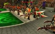 World of Warcraft: Cataclysm: Screen aus der Instanz Brunnen der Ewigkeit.