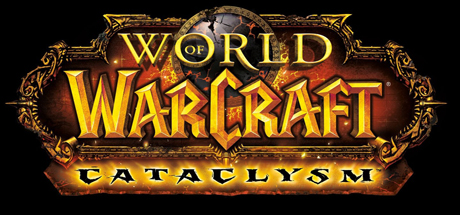 Logo for World of Warcraft: Cataclysm