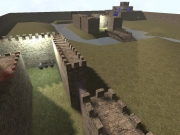 Call of Duty: United Offensive: Map Ansicht - Castle Wars