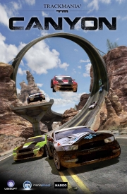 TrackMania 2: Canyon: News - Titel am Start - Cover
