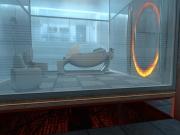 Portal: In diesem Raum beginst du dein experimentales Abenteuer.
