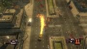 Zombie Driver: Screen aus dem 2D Shooter Zombie Driver.