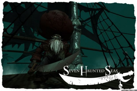 Seven Haunted Seas: Screen zum Spiel Seven Haunted Seas.