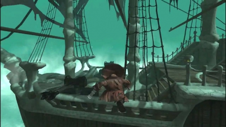 Seven Haunted Seas: Screen zum Spiel Seven Haunted Seas.