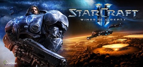 Logo for StarCraft II: Wings of Liberty