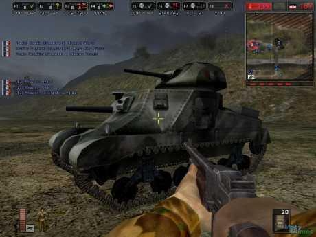 Battlefield 1942: The Road to Rome: Screen zum Spiel Battlefield 1942: The Road to Rome.