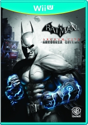 Batman: Arkham City: Wii Packshot