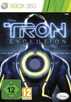 Logo for Tron: Evolution