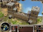Age of Alexander: Eine bemannte Mauer neben dem Dock