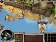 Age of Alexander: Die Ruhe vor dem Sturm: Die Krieger warten darauf, dass die Triere die Mauer zerstört.