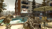 Call of Duty: Modern Warfare 2: Screenshot der Map Bailout aus dem Stimulus Map Pack