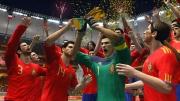 FIFA Fussball-Weltmeisterschaft Südafrika 2010: Screenshot der spanischen Nationalmannschaft