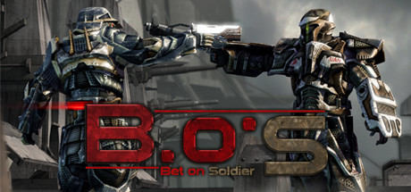 Logo for Bet On Soldier