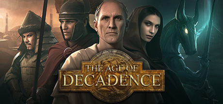 Logo for The Age of Decadence