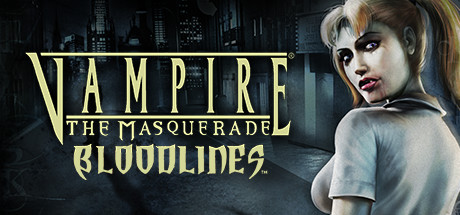 Logo for Vampire: The Masquerade - Bloodlines