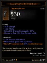 Diablo 3: Patch 2.2.0 - Verbesserungen bei Legendären Ausrüstungen