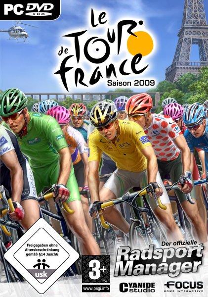 Tour de France 2009: Der offizielle Manager