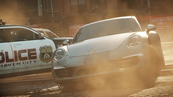 Need for Speed: Most Wanted: Offizielle Screen zum Rennspiel.